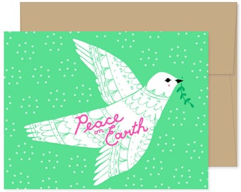 Boxed Set of 8 Peace On Earth Cards