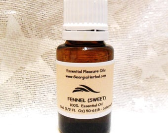 Fennel (Sweet)  100% Pure & Natural Essential Oil  COA Available  Mfg Date 11/15/16