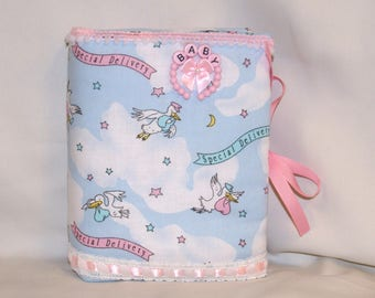 It's A Girl Special Delivery Padded Photo Album