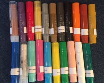 Just Reduced!! New Faber Castell Gelato Singles- Buy one or More - FREE US Shipping