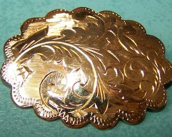 Vermeil Sterling Silver brooch