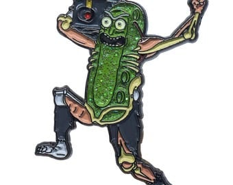 Pickle Rick Lapel pin
