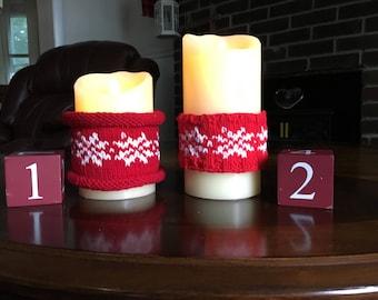 Nordic Candle Sleeve