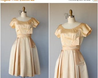 48 HR FLASH SALE Vintage Prom Dress | Vintage 1950s Dress | 50s Dress | 50s Party Dress | 1950s Formal Dress | 1950s Satin Dress