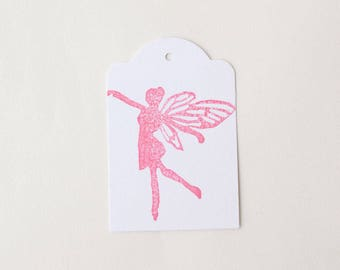 FAIRY favour tags, fairy gift tags, thank you tags, fairy favour bag tags, faerie tags X 10