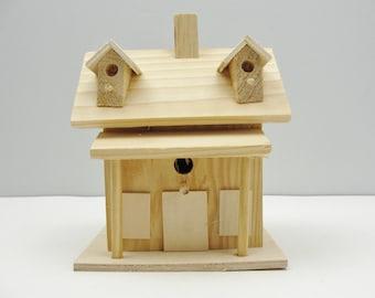 Birdhouse fairy house gnome home