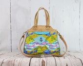 Custom Listing for Heather - Stargazer tote and NCW in Alison Glass Diving board