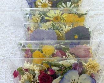 Wedding Confetti, Dry Flowers, Confetti, Flower Girl, Aisle, Table, Dry Rose Petals, Flowers, Daisies, Centerpieces, Aisle Decor, Bulk, Real