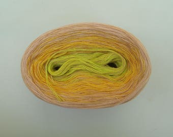 TROPICANA MEDLEY   Color Changing Cotton yarn  480 yards/100 gr  Fingering Weight