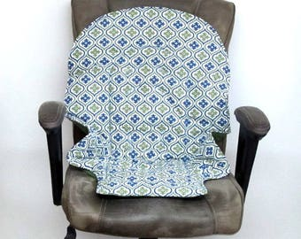Graco Blossom or Duodiner high chair protector pad, baby replacement chair cushion, baby feeding chair, feeding accessory, royal and olive