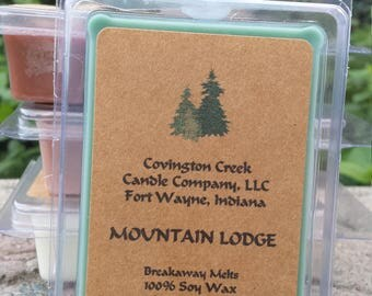 Mountain Lodge Pure Soy Breakaway Melt