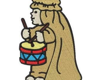 Embroidery Machine File  06022-03-05 Drummer Boy
