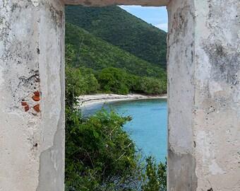 Fine Art Print, US Virgin Islands, St John Beach Print, National Park, Caribbean Photography,  Tropical Home Decor, Large Wall Art, Travel