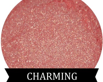 Pink  Mineral Eyeshadow Makeup CHARMING