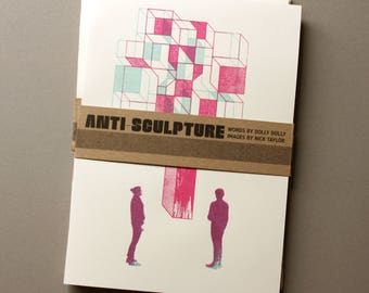 Anti-Sculpture Illustration/Poetry Zine