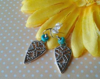 Arrowhead Earrings,Tribal