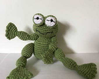 Amigurumi Crocheted Frog/Toad