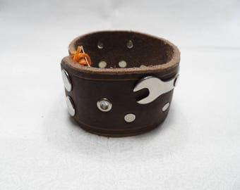 """Mechanic's Armband - Brown 9.5"""""""