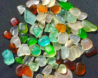Beach Glass or Sea Glass of Hawaii Jewelry Quality 80 AQUA! HEARTS Lime! SALE! Only 34 dollars! Jg! Bulk Sea Glass Sea Glass Bulk!
