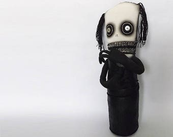 Tortured Soul. Plagued with guilt. Bound in regrets. Tormented by self doubt. Horror Art Doll
