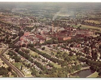 Panorama Eastman Kodak Company Works Rochester New York postcard