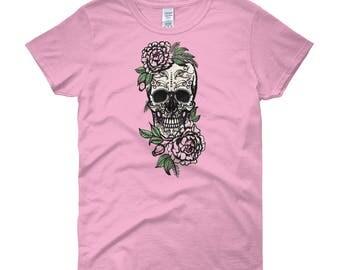 Sugar Skull Women's short sleeve t-shirt