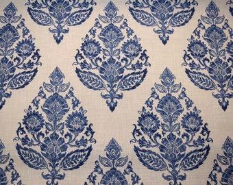 Lydia Antique Blue Covington Fabric
