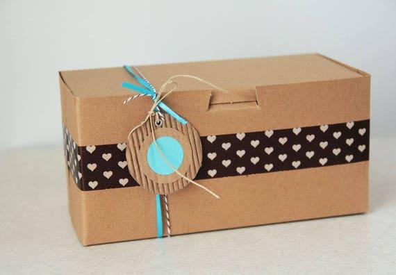 15- 8 x 4 x 4 inch  Kraft Cupcake or Gift Boxes