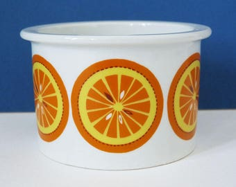 Arabia Jam pot orange