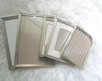 Brass Frames Mix and Match Frame Set 5 Wedding Table Number Frames Bohemian Wedding