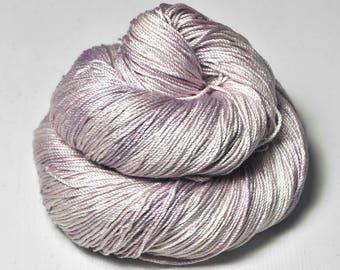 Molten blueberry ice cream - Cordonnette Silk Fingering Yarn