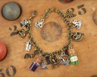 Nightmare Before Christmas Inspired Charm Bracelet