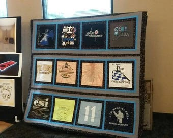 Tee Shirt Memory Quilts