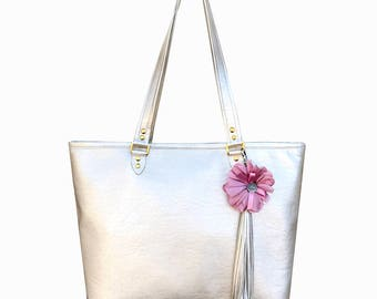 Rose Tote Bag Carry your Romance