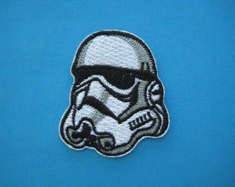 Iron-on Embroidered Patch STAR WARS Stormtrooper 2.1 inch