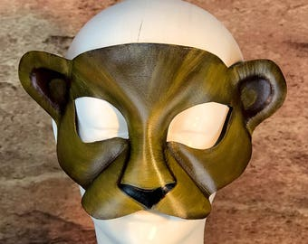 Lioness Leather Mask