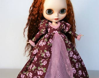 Maroon Gown by Modmoiselle