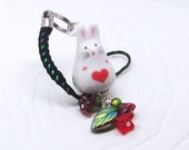 Bunny Rabbit Kawaii Cute Phone Charm