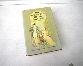 Georgette Heyer Omnibus 3 Regency Romance Books in One Volume
