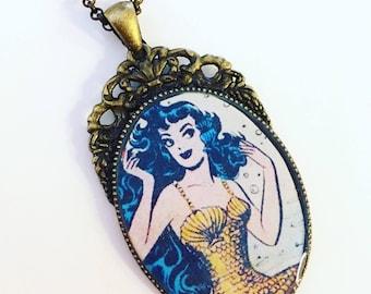 Katy Keene Mermaid Pendant