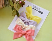 You choose color medium |Abby Bow| clip or headband