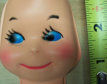 Vintage Celluloid Style Doll Face