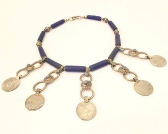 Ethnic Handmade Unique Bib Necklace Vintage Jewelry