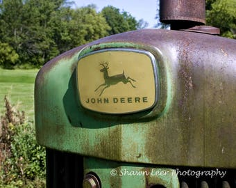 Nothing runs like a John Deere Tractor