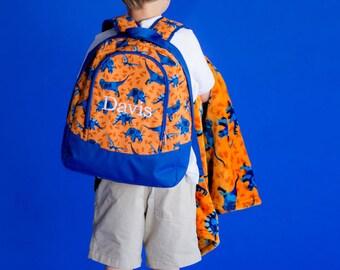 Monogrammed PRESCHOOL Backpack