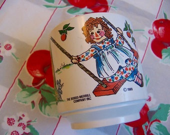 1969 bobbs merrill plastic mug