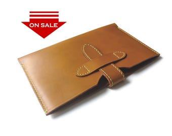 ON SALE : iPad / iPad Air / iPad Pro 9.7 sleeve case in Vegetable Tanned Leather