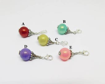 12mm Glass Bead Dangle For Floating Memory  Locket, Dangle beads