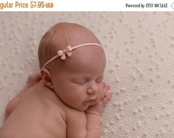 ON SALE Pink Headband, Baby Girl Headband, Newborn Headband, Photography Prop, Baby Girl Prop