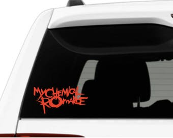 My Chemical Romance  Inspired Vinyl Decal Sticker